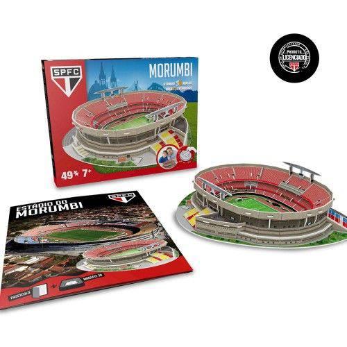 Tudo sobre 'Livro-Maquete 3D Estádio Morumbi 49#'