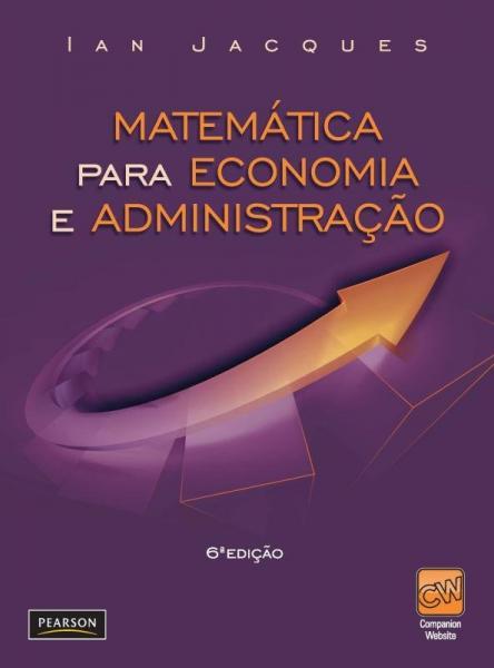 Livro - Matemática para Economia e Administração