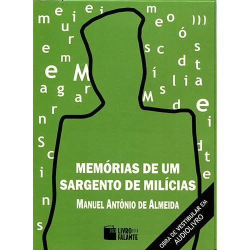 Livro - Memórias de um Sargento de Milícias (Audiolivro)
