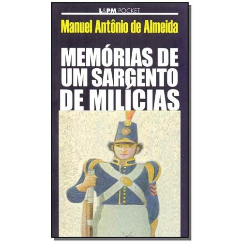 Livro - Memorias de um Sargento de Milicias - Bolso