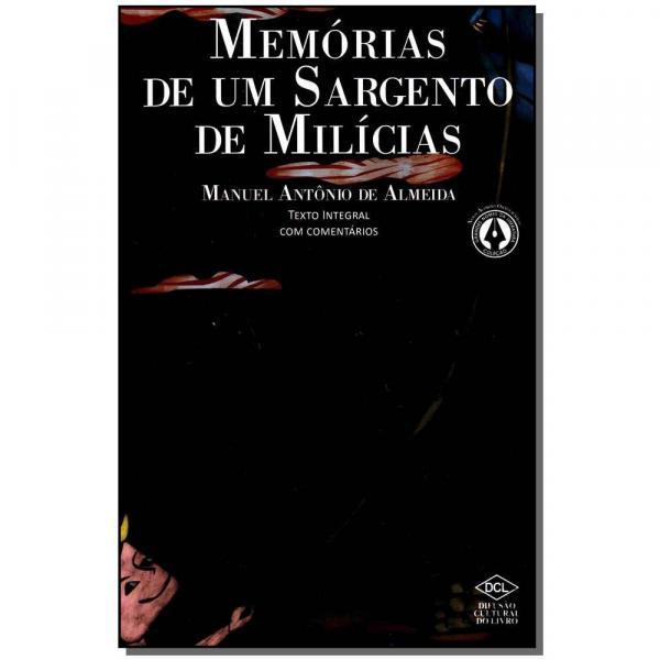 Livro - Memorias de um Sargento de Milicias - Dcl