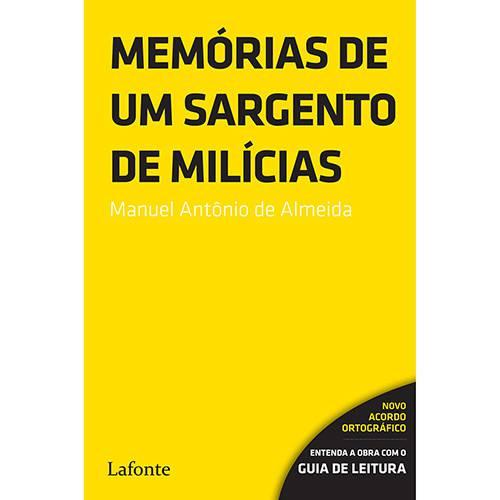 Tudo sobre 'Livro - Memórias de um Sargento de Milícias'
