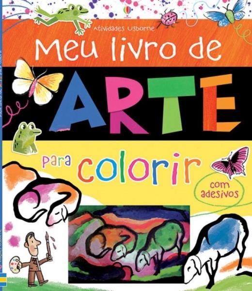 Livro - Meu Livro de Arte para Colorir