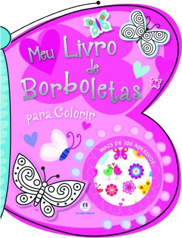 Livro - Meu Livro de Borboletas para Colorir