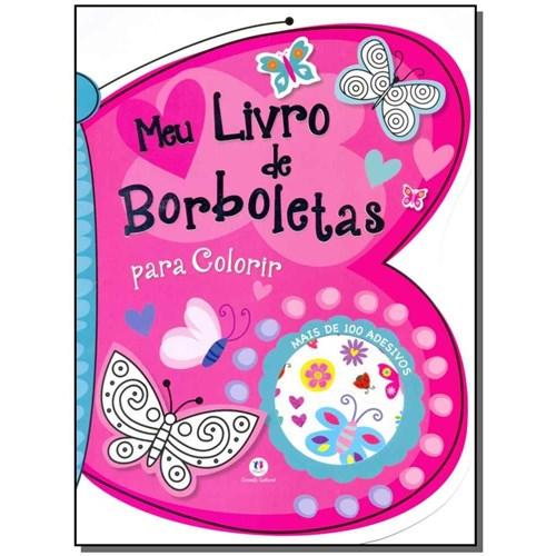 Livro - Meu Livro de Borboletas - para Colorir