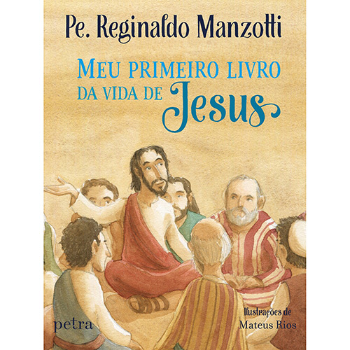 Livro - Meu Primeiro Livro da Vida de Jesus