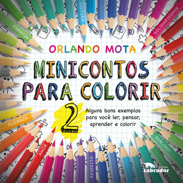 Livro - Mini Contos para Colorir 2