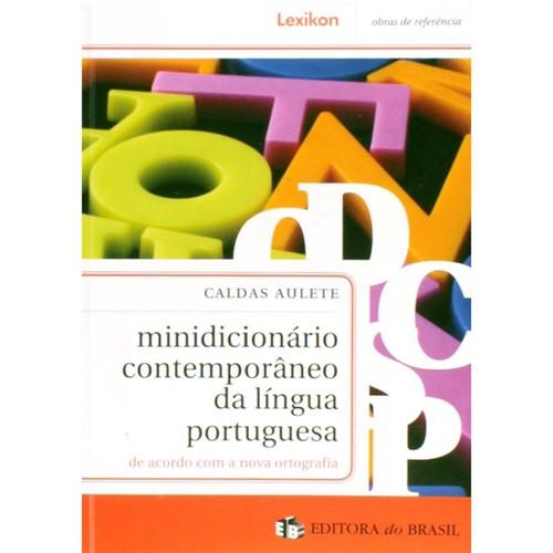 Livro - Minidicionário Contemporâneo da Língua Portuguesa
