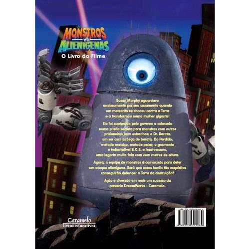 Livro - Montros VS Alienígenas - o Livro do Filme