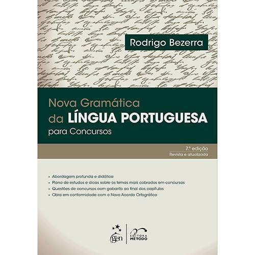 Livro - Nova Gramatica da Língua Portuguesa para Concursos