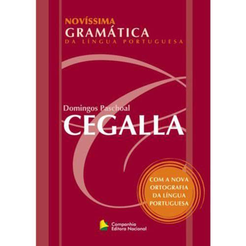 Livro - Novíssima Gramática da Língua Portuguesa - Novo Acordo Ortográfico