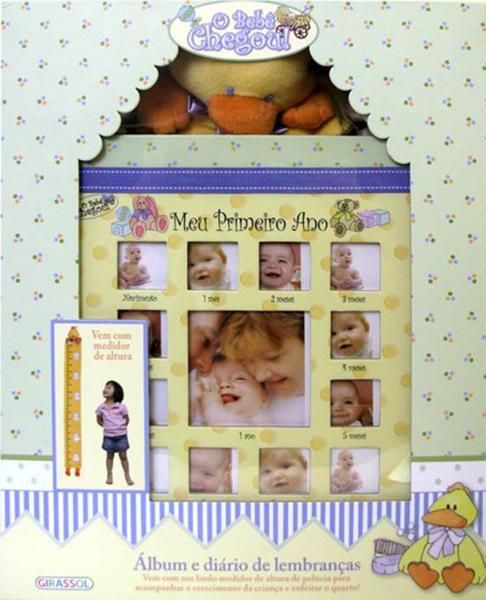 Livro - o Bebê Chegou - Meu Primeiro Ano