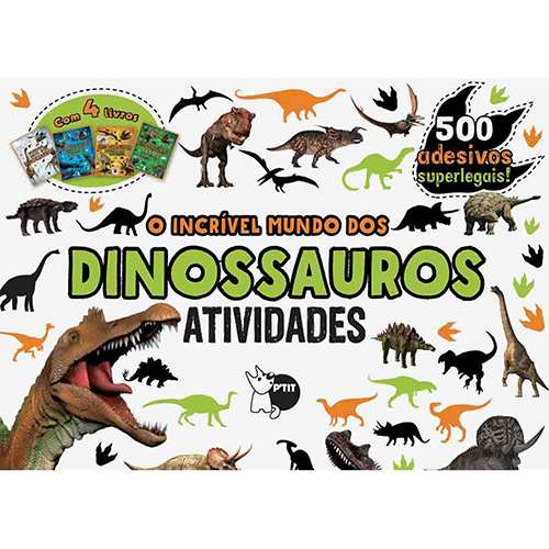 Livro - o Incrível Mundo dos Dinossauros
