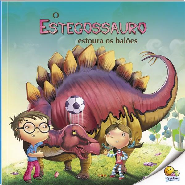 Livro - o Mundo dos Dinossauros: Estegossauro
