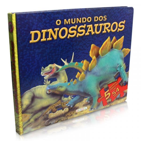 Livro - o Mundo dos Dinossauros - Girassol