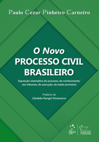 Tudo sobre 'Livro - o Novo Processo Civil Brasileiro'