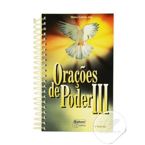 Tudo sobre 'Livro Orações de Poder Iii (espiral)'