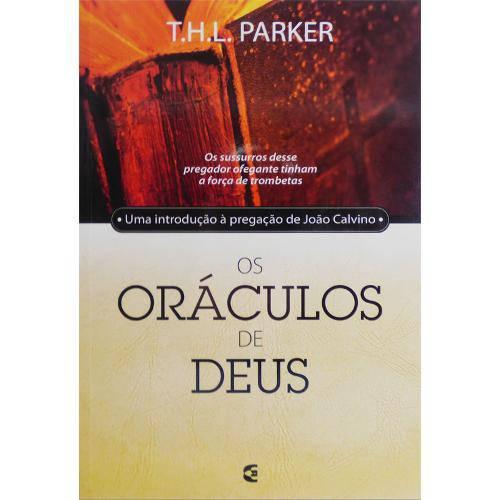 Tudo sobre 'Livro os Oráculos de Deus'