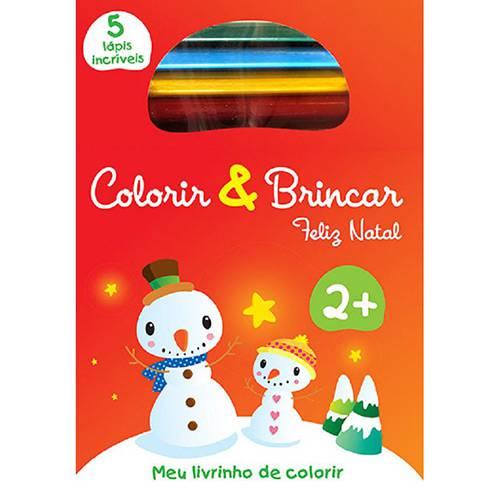 Livro para Colorir - Feliz Natal - Colorir & Brincar