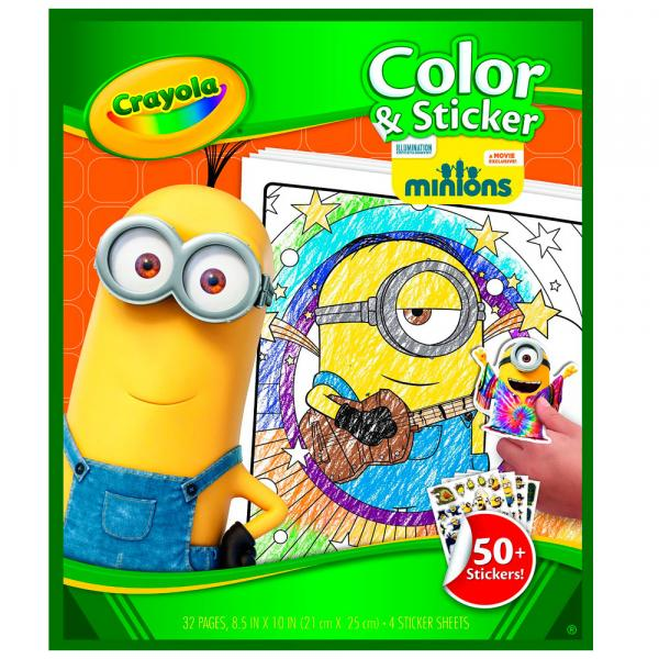 Livro para Colorir - Minions - Crayola