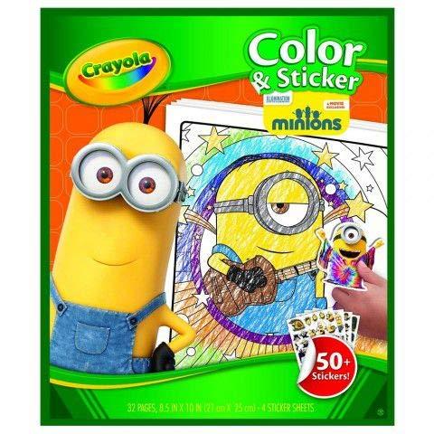 Livro para Colorir Minions - Crayola