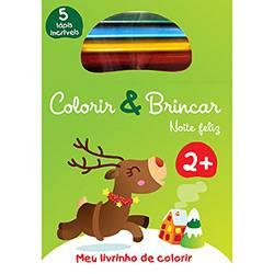 Livro para Colorir - Noite Feliz - Colorir & Brincar