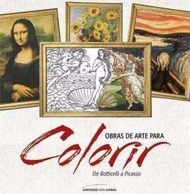 Livro para Colorir - Obras de Arte