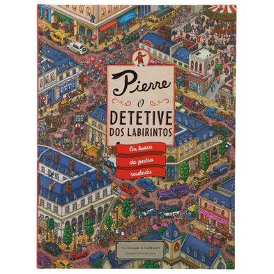 Livro Pierre, o Detetive dos Labirintos Multicor