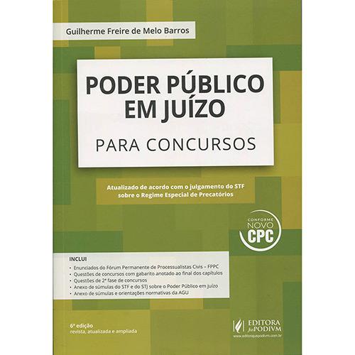 Livro - Poder Público em Juízo: para Concursos