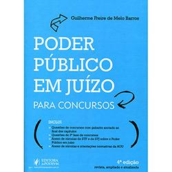 Livro - Poder Público em Juízo para Concursos