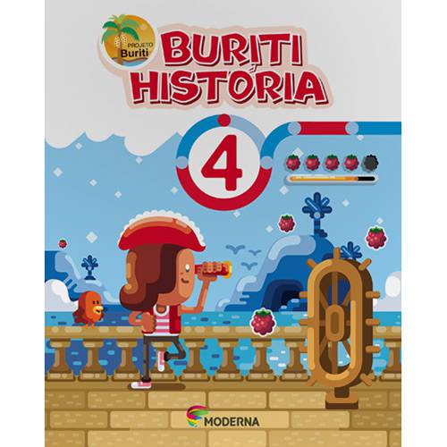 Tudo sobre 'Livro - Projeto Buriti História - Vol. 4'