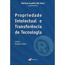 Livro - Propriedade Intelectual e Transferência de Tecnologia