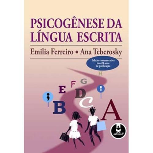 Tudo sobre 'Livro - Psicogênese da Língua Escrita'