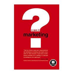 Livro - que é Marketing, o