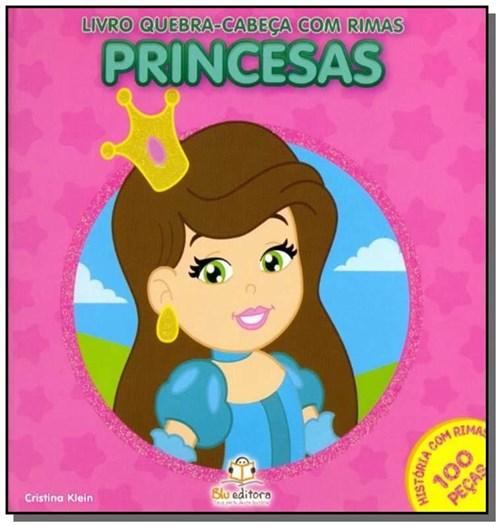 Livro Quebra-Cabeca com Rimas-Princesas
