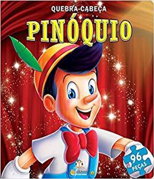 Livro Quebra-Cabeca Grande - Pinoquio