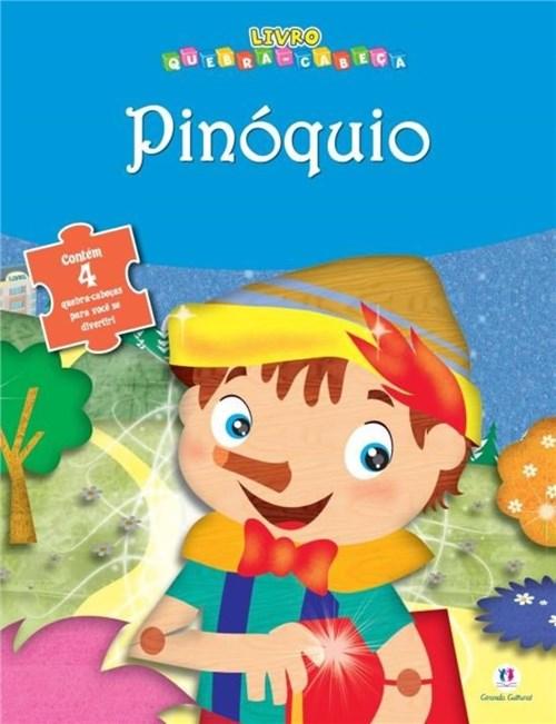 Livro Quebra-Cabeças Pinóquio - Blu Editora