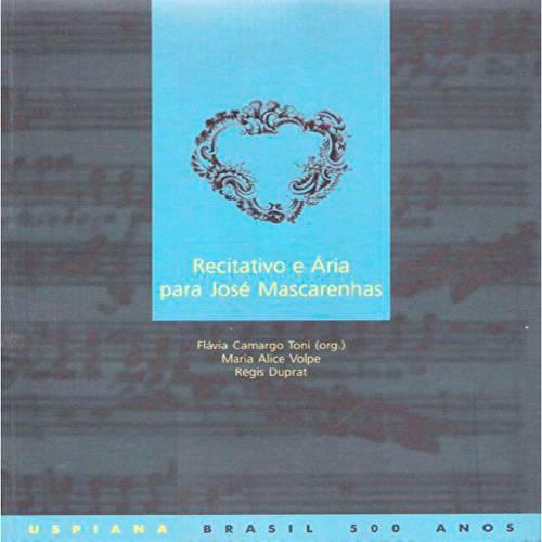 Livro - Recitativos e Ária para José Mascarenhas