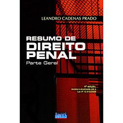 Livro - Resumo de Direito Penal - Parte Geral