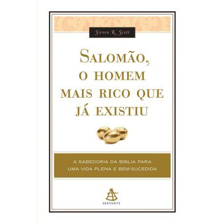 Tudo sobre 'Livro Salomão, o Homem Mais Rico que já Existiu'