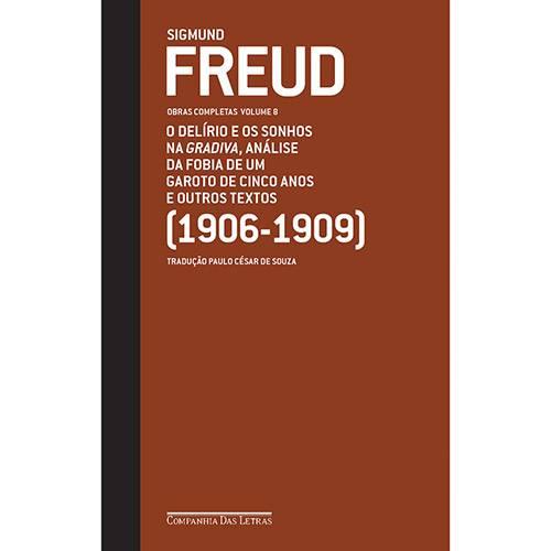 Tudo sobre 'Livro - Sigmund Freud - Obras Completas Vol. 8'