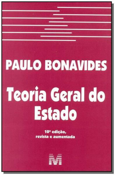 Livro - Teoria Geral do Estado - 10 Ed./2015