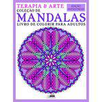 Livro - Terapia Arte Livro de Colorir para Adultos