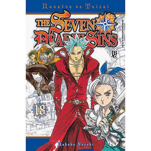 Livro - The Seven Deadly Sins 18