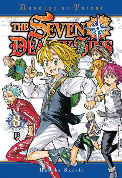 Livro - The Seven Deadly Sins - Vol. 08 - Jbc