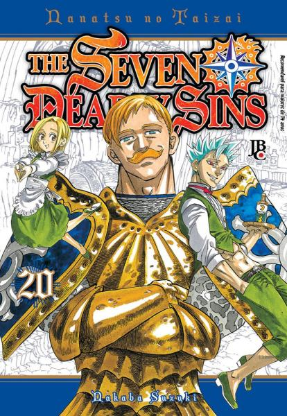 Livro - The Seven Deadly Sins - Vol. 20