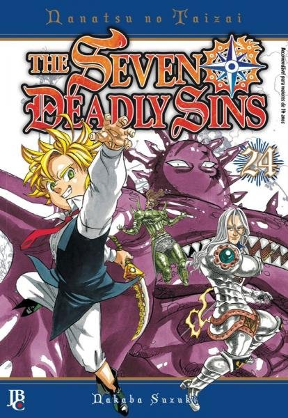 Livro - The Seven Deadly Sins - Vol. 24