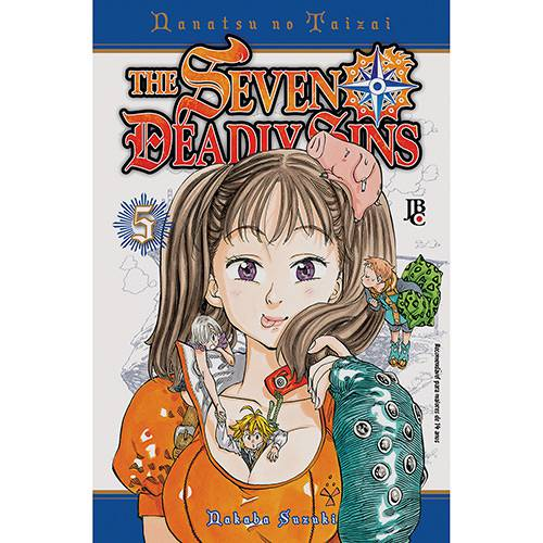 Livro - The Seven Deadly Sins - Vol. 5