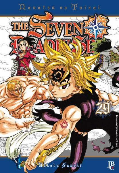 Livro - The Seven Deadly Sins - Vol. 29