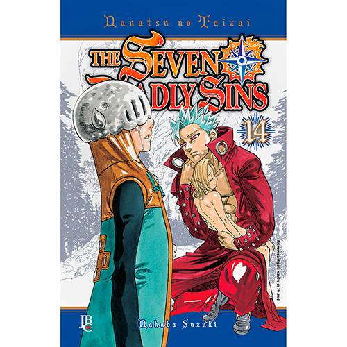Livro - The Seven Deadly Sins Volume 14